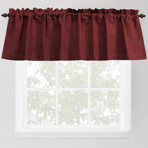 Park B. Smith® Cortina Rod-Pocket Valance