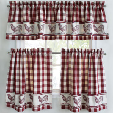 jcpenney.com   Park B. Smith Provencial Rooster Rod-Pocket Kitchen Curtains