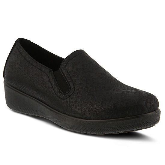 Flexus Womens Thekla Slip-On Shoe Round Toe
