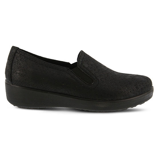 Flexus Womens Thekla Slip-On Shoe