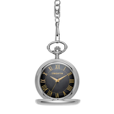 Liz Claiborne Mens Pocket Watch-Clm1219