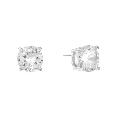 Clear Stud Earrings