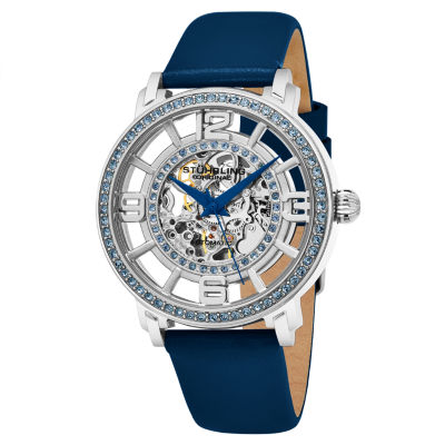 Stuhrling Womens Blue Strap Watch-Sp16344