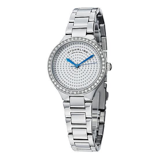 Stuhrling Womens Silver Tone Bracelet Watch Sp14920