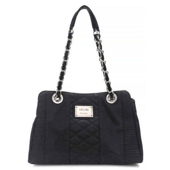 Nicole By Nicole Miller Suzie Quilted Large Tote Bag