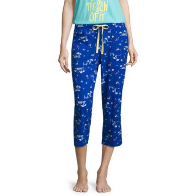 Sleep Chic Jersey Pattern Pajama Pants