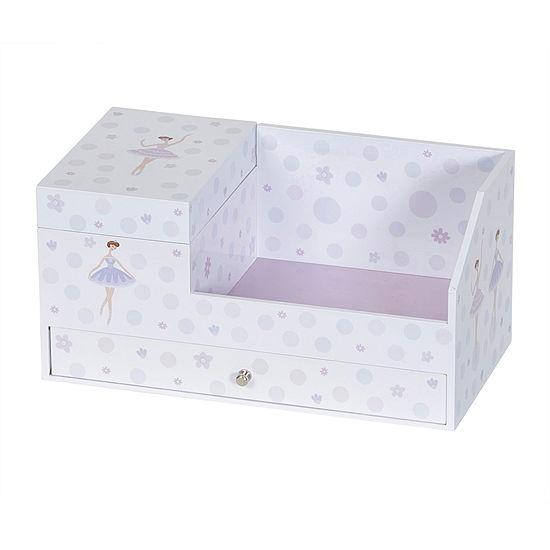 Mele & Co. Girls Musical Ballerina Jewelry Box & Organizer