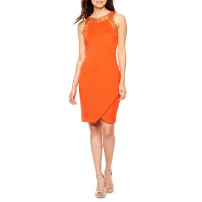 Melrose Sleeveless Sheath Dress