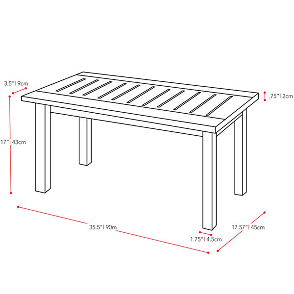 Miramar Patio Coffee Table