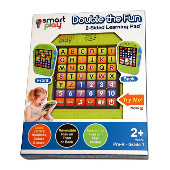 Double The Fun 2 Sided Learning Pad