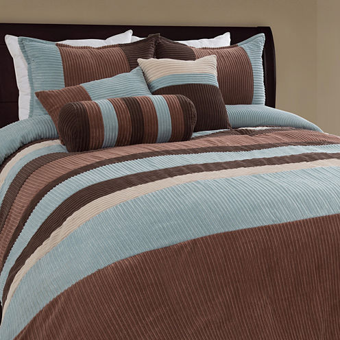Geo 7-pc. Midweight Comforter Set