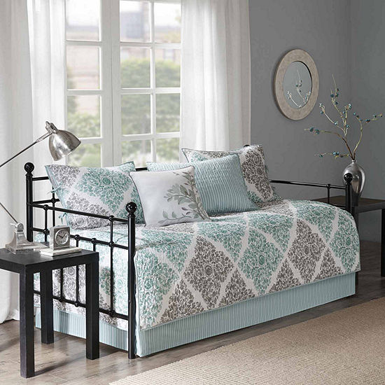 Madison Park Montecito Polyester Printed 6-pc. Daybed Cover Set