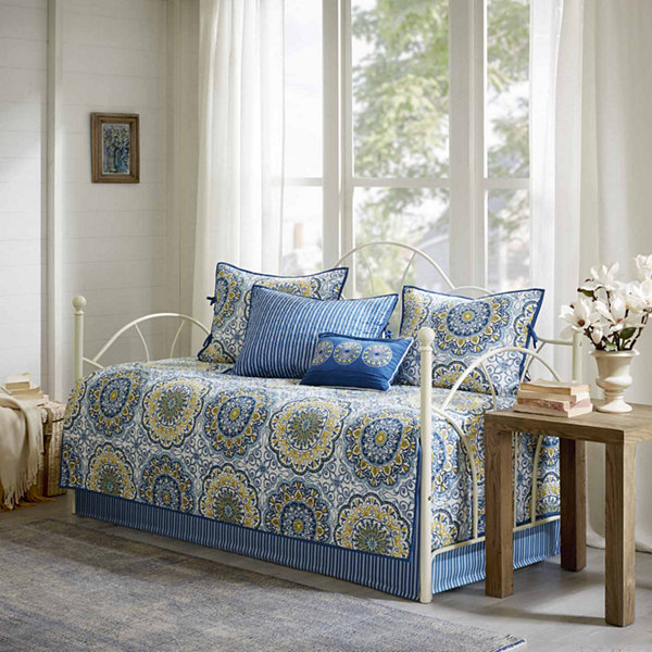 Madison Park Moraga Polyester Printed 6-pc. Daybed Cover Set