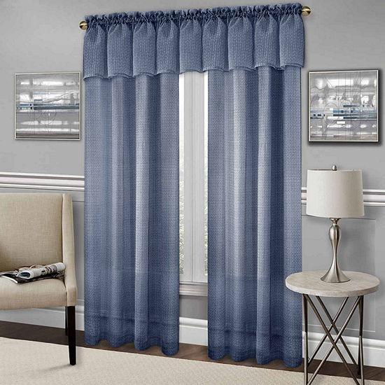 Richmond Light-Filtering Rod-Pocket Curtain Panel