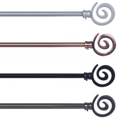Spiral 3/4 IN Curtain Rod