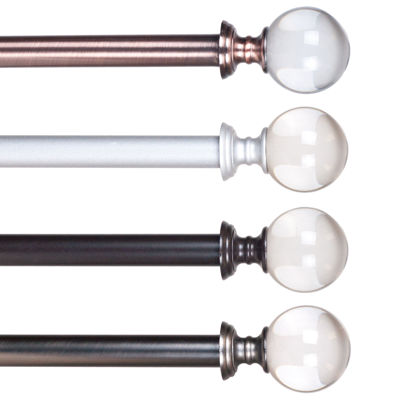 Crystal Ball 3/4 IN Curtain Rod