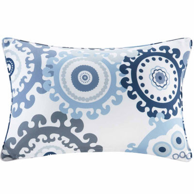 Madison Park Printed Medallion Rectangular OutdoorPillow