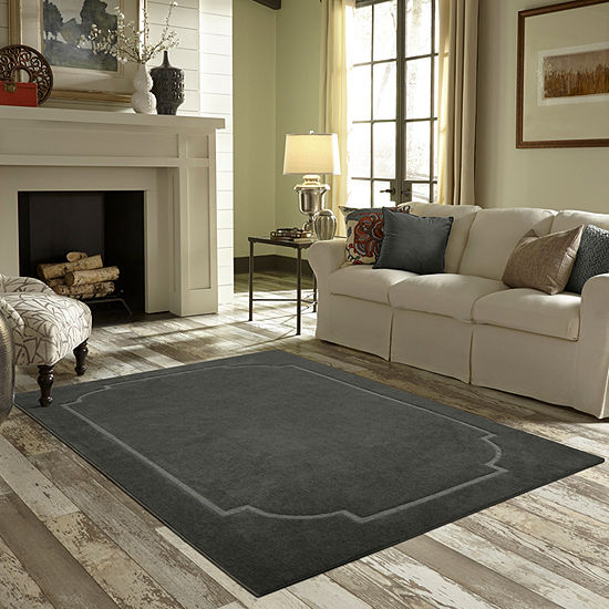 "JCPenney Home 21""x34"" Washable Rectangular Accent Area Rug"