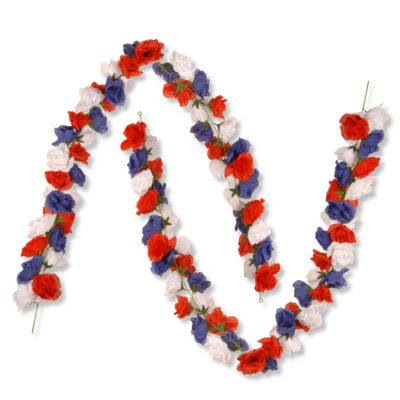 National Tree Co. Patriotic Home Accents Garland