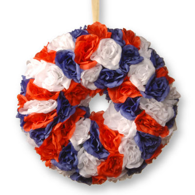 National Tree Co. Patriotic Home Accents Wreath