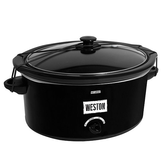 Weston 5 Quart Portable Slow Cooker