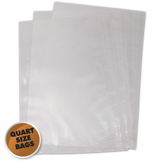 """Weston Vacuum Sealer Bags, 8"""" x 12"""" Quart-30 count"""