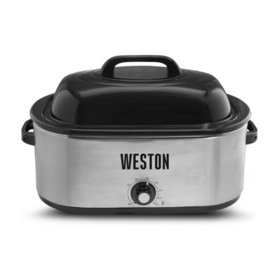 Weston 22 Quart Stainless Steel Electric Roaster Oven