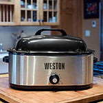 Weston 22 Quart Stainless Steel Roaster Oven