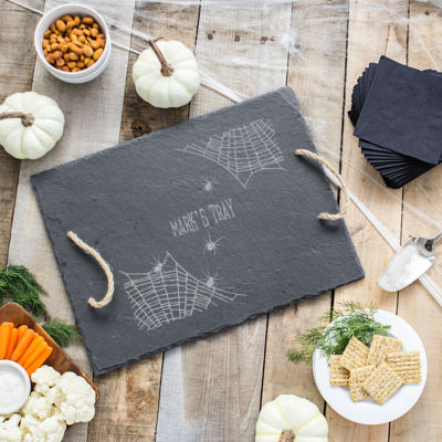 Cathy's Concepts Spider Web Serving Tray