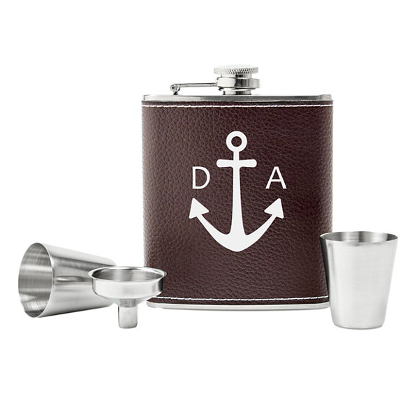 Cathy's Concepts Anchor 4-pc. Flasks