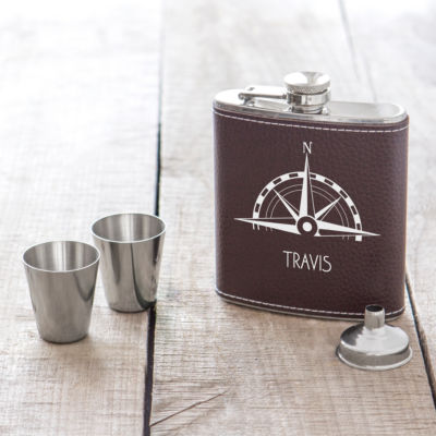 Cathy's Concepts Compass 4-pc. Flasks