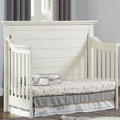 Ozlo Baby Crestwood 4 in 1 Convertible Crib- Oyster White