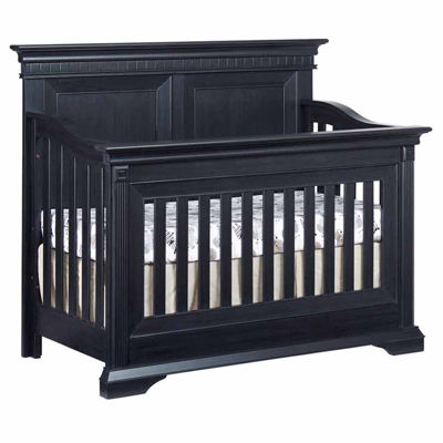 Ozlo Baby Galloway 4 in 1 Convertible Crib- Navy Mist