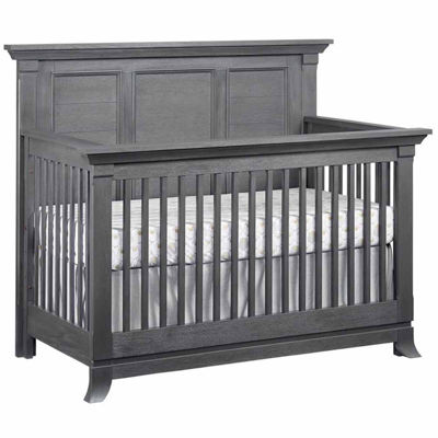 Ozlo Baby Hamilton 4-in-1 Convertible Crib - Marble Gray