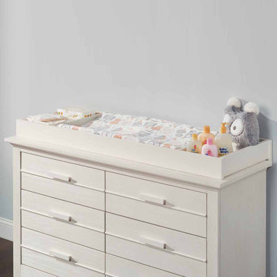 Ozlo Baby Crestwood Changing Table Top- Oyster White