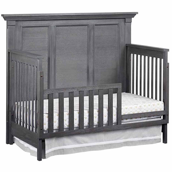 Ozlo Baby Hamilton Toddler Guard Rail- Marble Gray