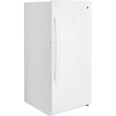 GE® ENERGY STAR® 14.1 cu. ft. Frost-Free Upright Freezer