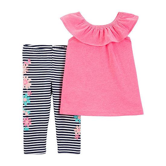Carter's Capri Girls 2-pc. Legging Set-Toddler