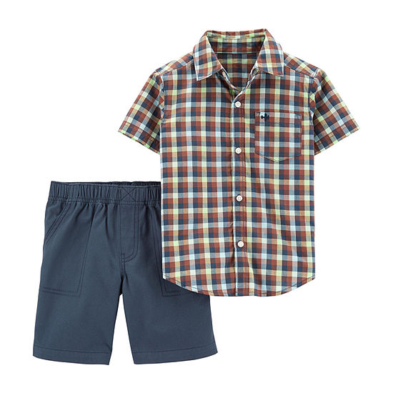 Carter's 2-pc. Short Set Toddler Boys