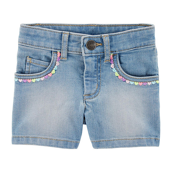 Carter's Girls Denim Short - Toddler