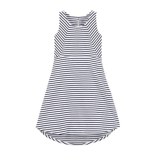 Carter's Girls Sleeveless Striped A-Line Dress - Preschool / Big Kid
