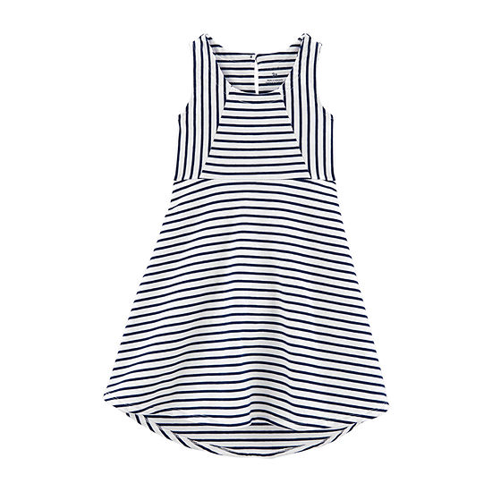 Carter's Girls Sleeveless Striped A-Line Dress - Toddler