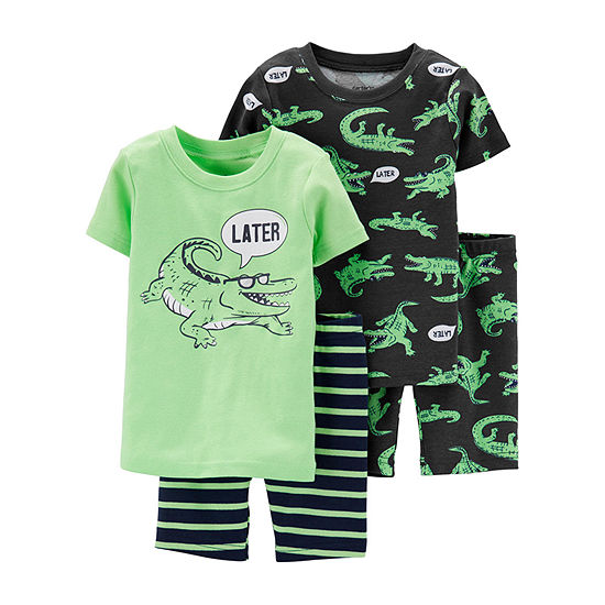 Carter's 4-pc. Pajama Set Toddler Boys
