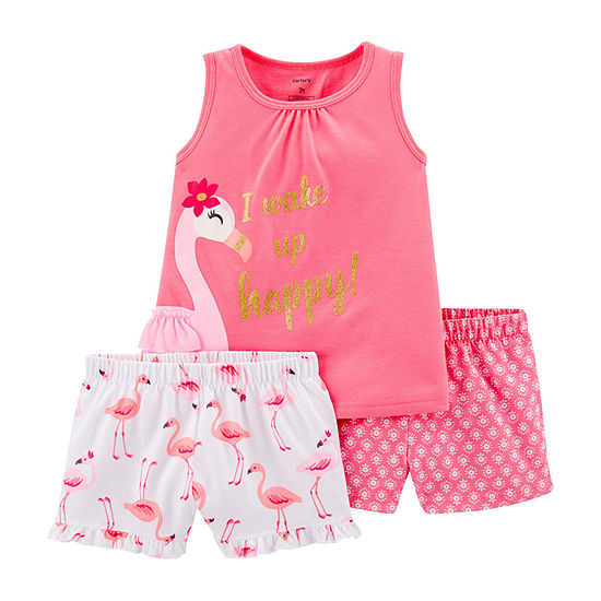 Carter's 3-pc. Pajama Set Toddler Girls