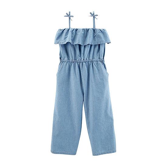 Carter's Girls Jumpsuit Preschool / Big Kid