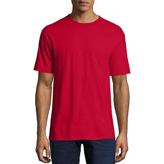 374e709f Hanes Short Sleeve Crew Neck T Shirt JCPenney