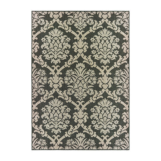 Covington Home Latrell Lattice Rectangular Indoor/Outdoor Rugs