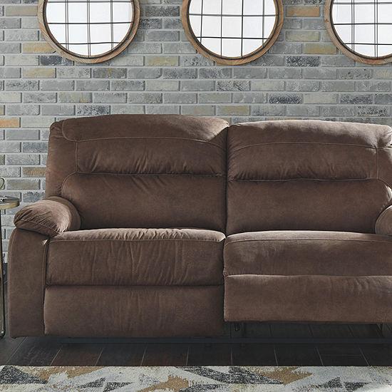 Signature Design by Ashley® Bolzano Pad-Arm Reclining Sofa