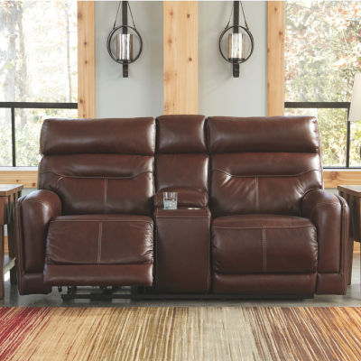 Signature Design by Ashley® Sessom Track-Arm Power Recline Loveseat