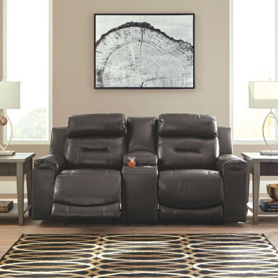Signature Design by Ashley® Pomellato Pad-Arm Power Recline Loveseat